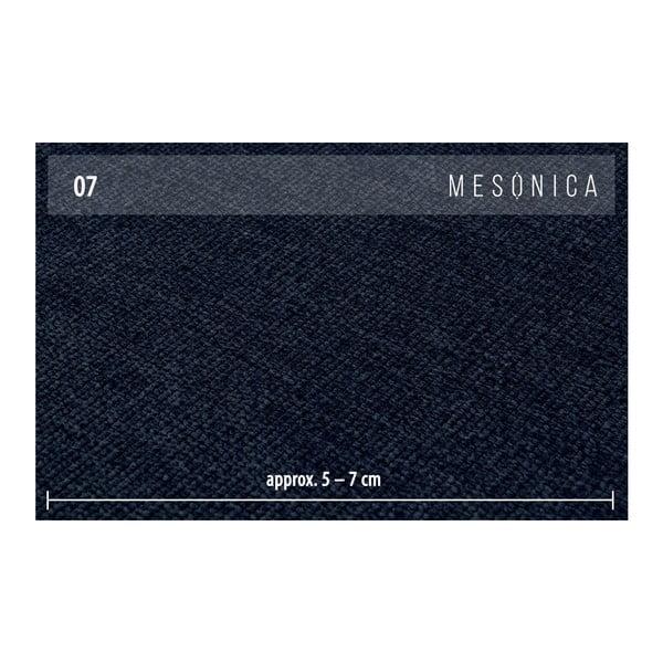 Modrá dvoumístná pohovka MESONICA Puzo