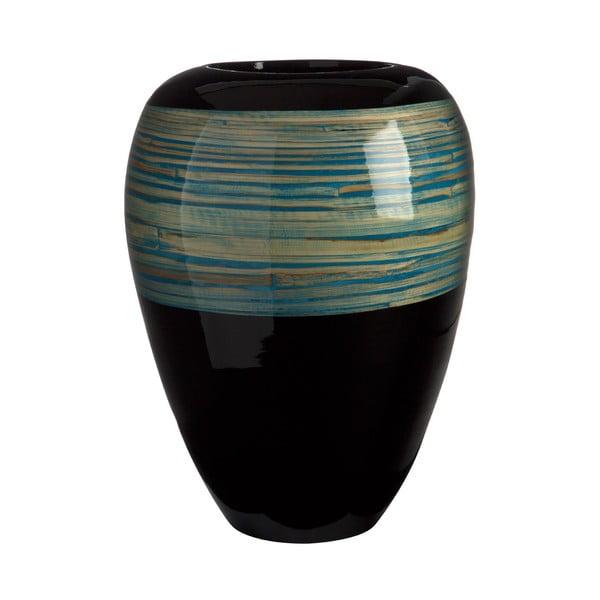 Váza Complement Black, 40 cm
