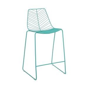 Tyrkysová barová židle Ixia Garden