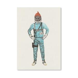 Plakát Zissou In Space od Florenta Bodart, 30x42 cm