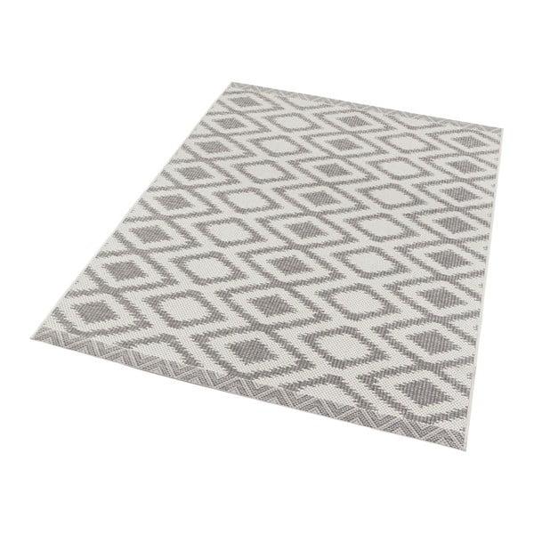 Šedý koberec vhodný i na ven Bougari Kalora, 180x280cm