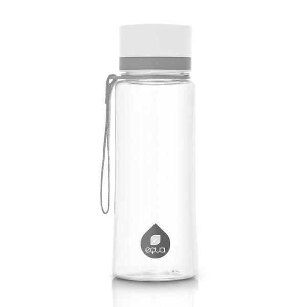 White műanyag vizespalack, 0,6 l - Equa