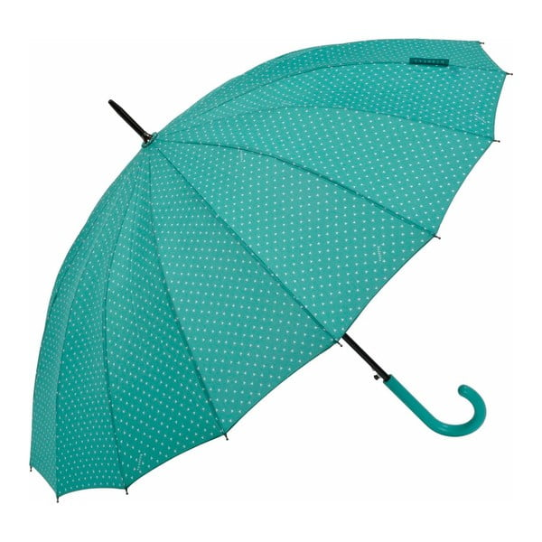 Umbrelă Ambiance Triangles, ⌀ 122 cm, verde