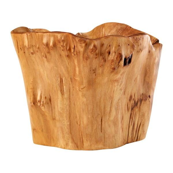Servírovací mísa z cedrového dřeva Premier Housewares Kora, ⌀ 27 cm