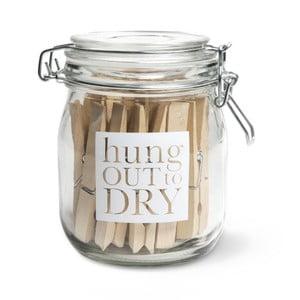 Dóza s kolíčky Hung out to dry