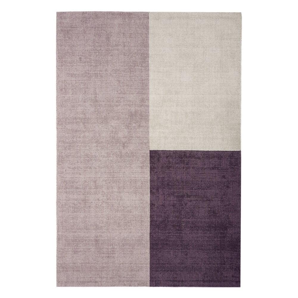 Béžovo-fialový koberec Asiatic Carpets Blox, 160 x 230 cm