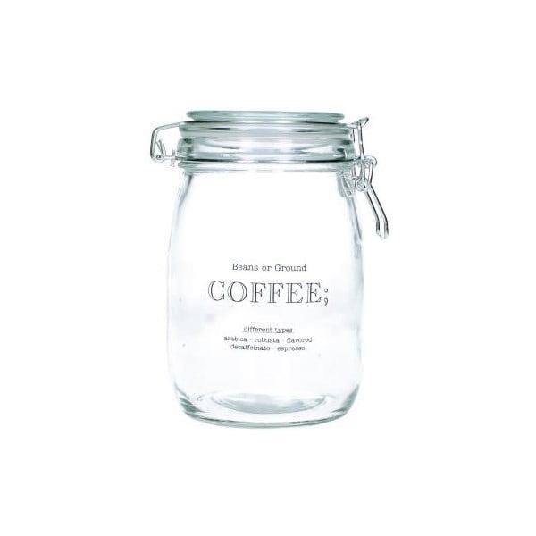 Skleněná dóza na kávu Coffee