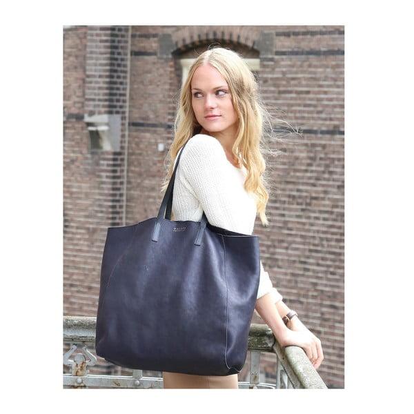 Kožená kabelka O My Bag Jazzy Less, půlnoční modř