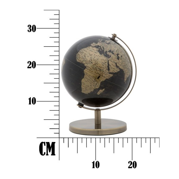 Dekorativní globus v bronzovém provedení Mauro Ferretti Mappamondo, ⌀ 20 cm