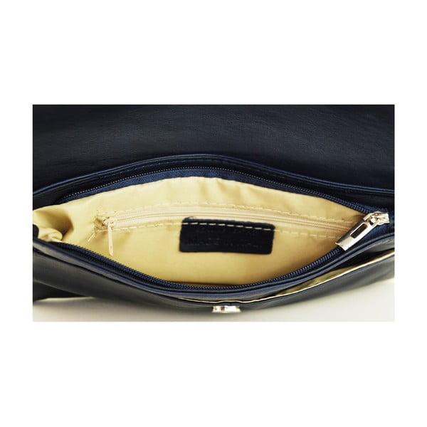 Kožená kabelka Masienne Blu