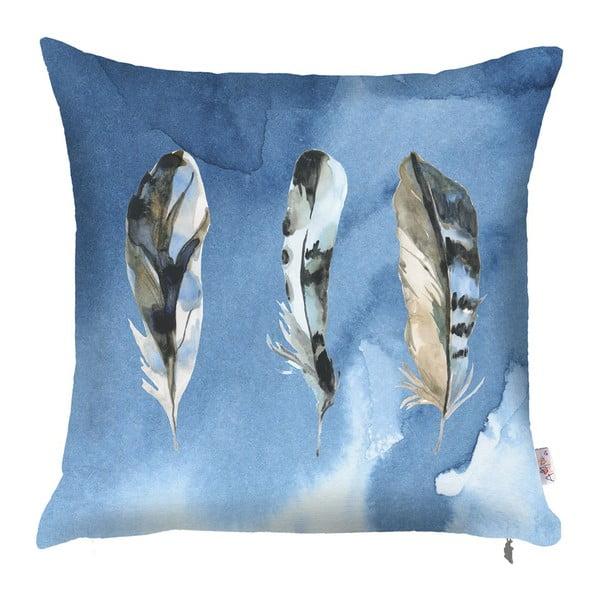 Feana kék párnahuzat, 43 x 43 cm - Apolena