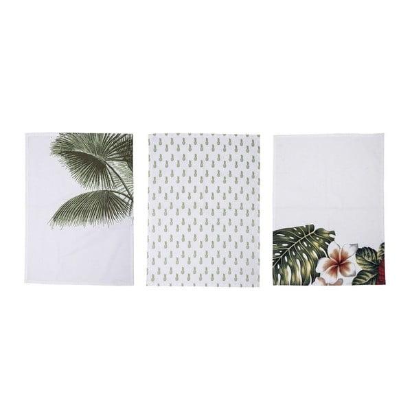 Zestaw 3 ścierek kuchennych Bloomingville Aruba, 70x50 cm