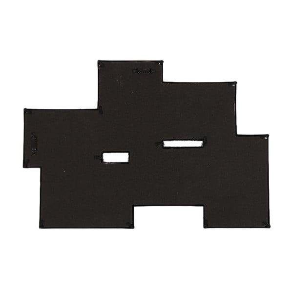 Spojená sada šesti fotorámečků, černá
