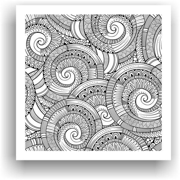 Obraz k vymalování Color It no. 26, 50x50 cm