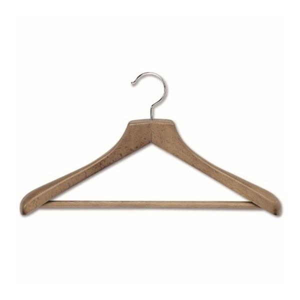 Ramínko s kalhotovou tyčí z bukového dřeva na kabáty Cosatto Mokko