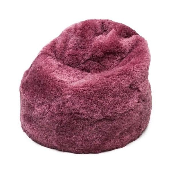 Kožešinový sedací vak Fuchsia