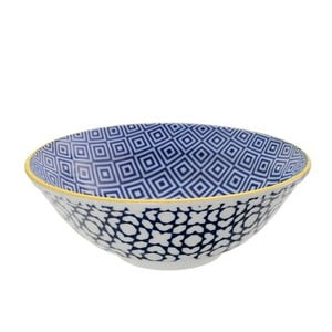 Porcelánová miska Geo Noodle Geometric No1, 21x7,8 cm