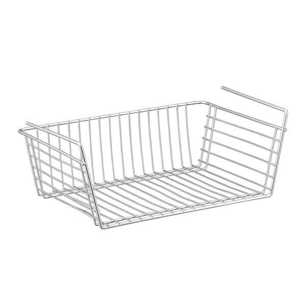 Coș atașabil sub raft Metaltex Basket, adâncime 39 cm