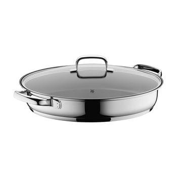 Tigaie ovală din oțel inoxidabil cu capac WMF Cromargan® imagine