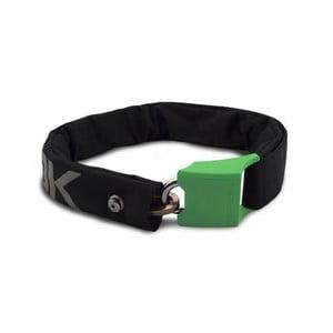 Zámek na kolo Hiplok V1.5, black/reflective/green