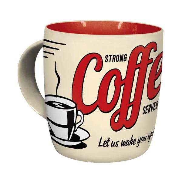 Keramický hrnek Strong Coffee 330 ml