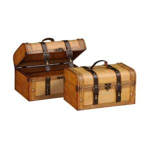 Set 2 boxů Storage