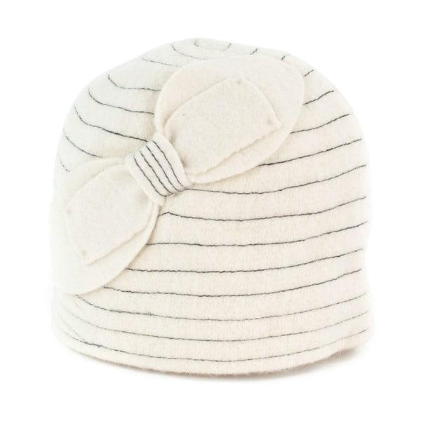 Čepice Vintage White