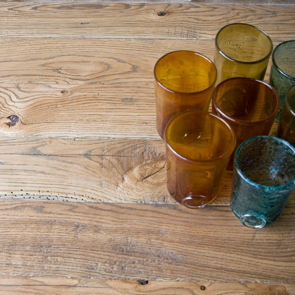 Konferenční stůl Coffee, přírodní dub