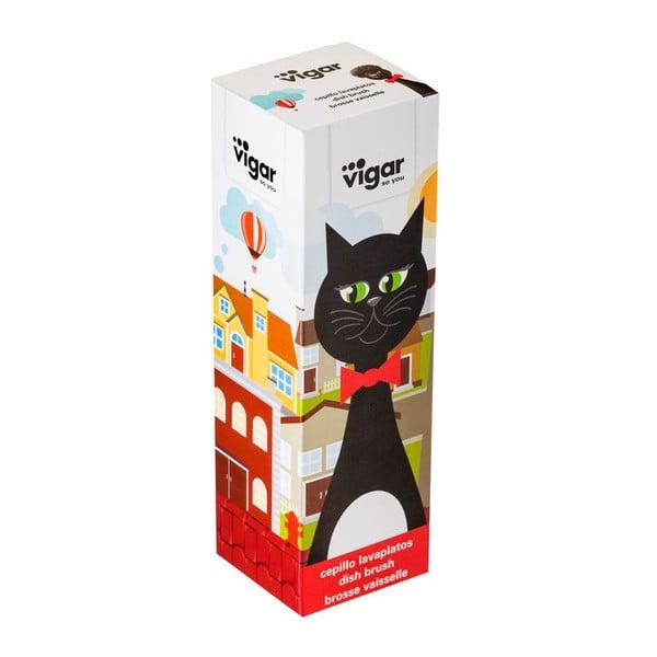 Kartáč na nádobí Vigar Black Cat