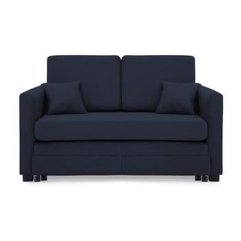 Canapea extensibilă, 2 locuri, Vivonita Brent, albastru închis de la Vivonita