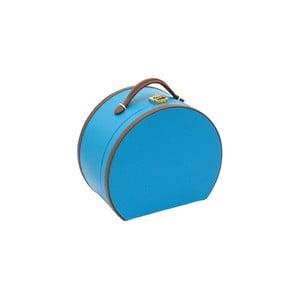 Modrá šperkovnice/kosmetický kufřík Friedrich Lederwaren Ascot