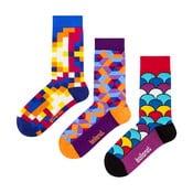 Dárková sada ponožek Ballonet Socks Crazy, velikost 36-40