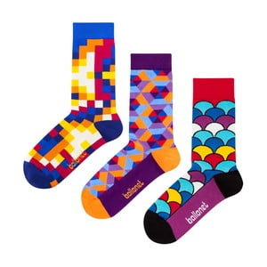Set cadou șosete Ballonet Socks Crazy, mărimea 36-40