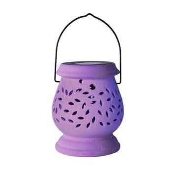 Felinar LED pentru exterior Best Season Clay, lila de la Best Season