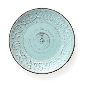 Farfurie din ceramică Brandani Serendipity, ⌀ 27,5 cm, turcoaz imagine