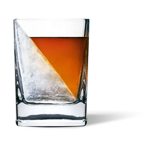 Szklanka do whisky z formą do lodu  Corkcicle Whiskey Wedge
