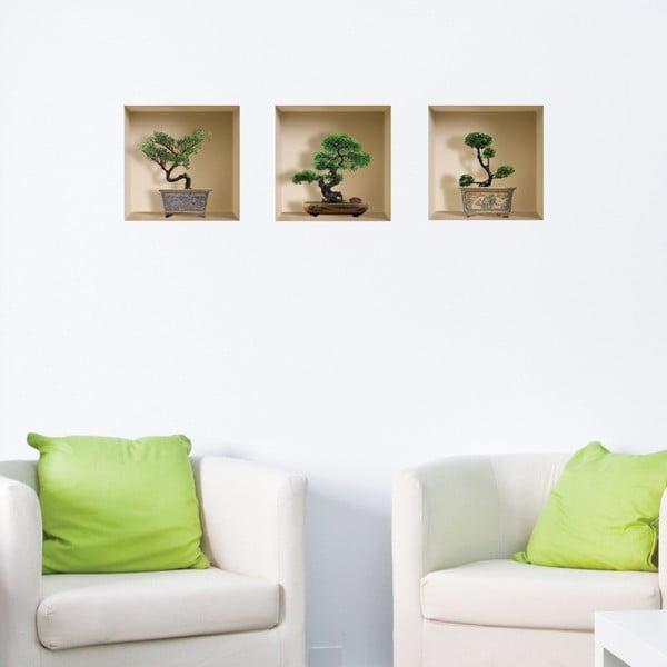 3D samolepky na zeď Nisha Banzai