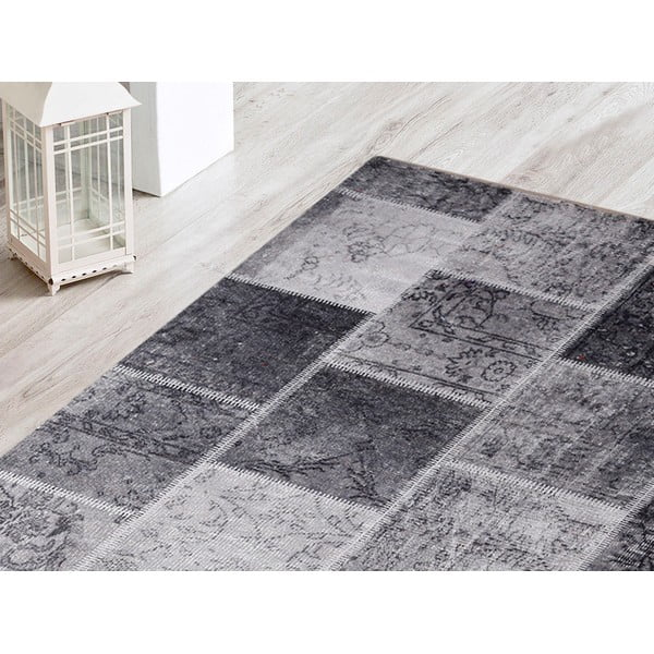 Koberec Patchwork Grey, 80x120 cm