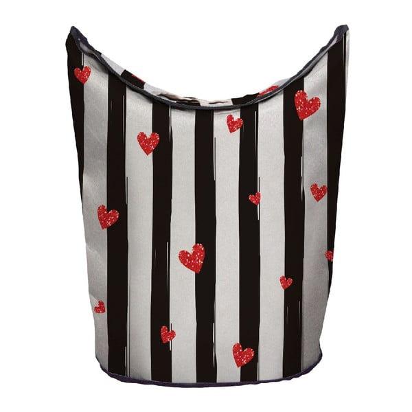 Koš na prádlo Red Hearts