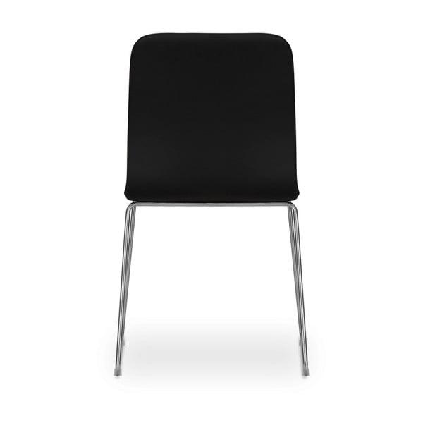 Sada 2 černých židlí Garageeight Finnoy