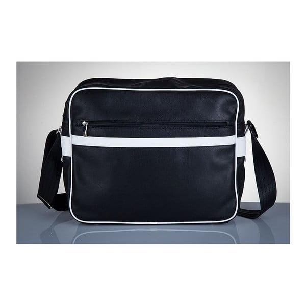 Pánská taška Solier MS1, bílé detaily