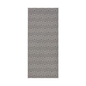 Černo-bílý koberec vhodný do exteriéru Bougari Karo, 80x150cm