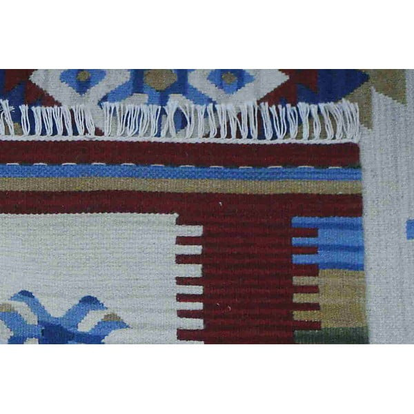 Ručně tkaný koberec Kilim Mili, 215x155cm