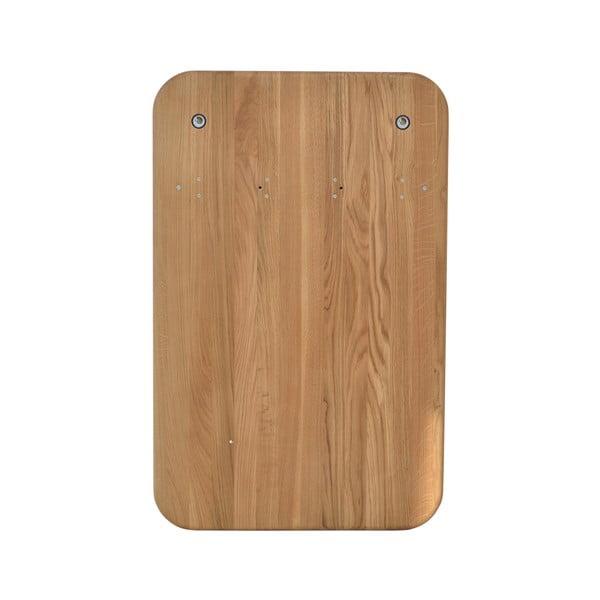 Nástěnný věšák na kabáty z dubového dřeva Gazzda Ena