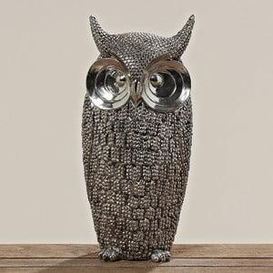 Dekorativní socha Owl, 39 cm