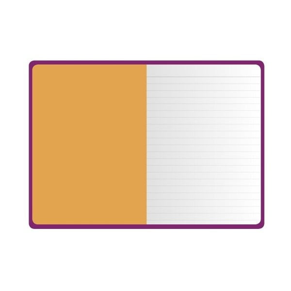 Zápisník Go Stationery Pop Purple Medium