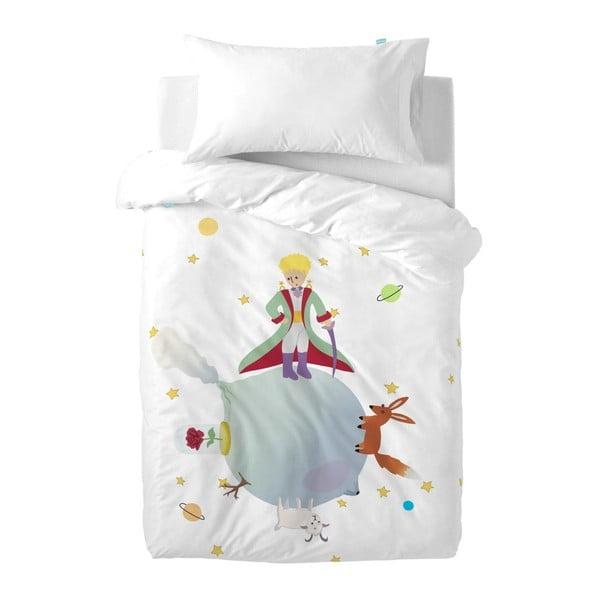 Little Prince gyermek pamut ágynemű- és párnahuzat, 100 x 120 cm - Mr. Fox