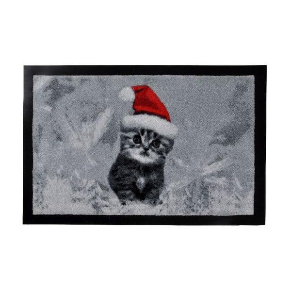 Rohožka Xmas Cat, 40x60 cm