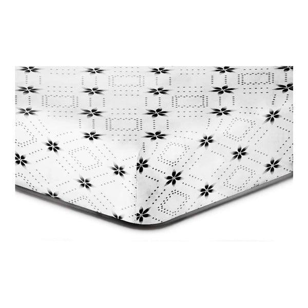 Hypnosis Snowynight mikroszálas lepedő, 200 x 220 cm - DecoKing