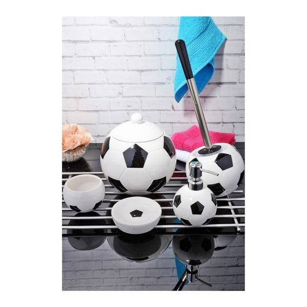 Komplet dodatków łazienkowych Football Fan